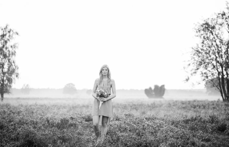 Fotoshooting in der Lüneburger Heide, Inzmühlen
